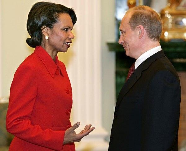 Rice and Putin