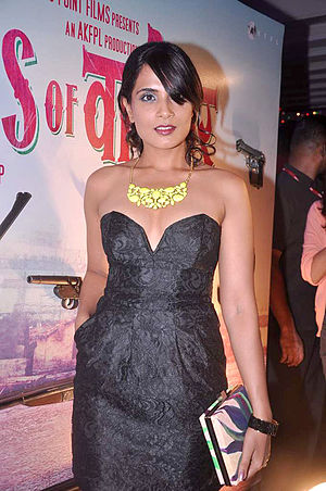 Richa Chadda -   Chadda at event celebrating   Gangs of Wasseypur – Part 1 and Gangs of Wasseypur – Part 2