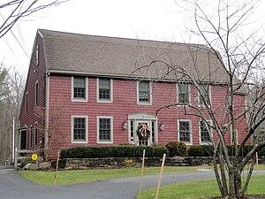 Richard Sanger III House - Image: Richard Sanger III House Sherborn, Massachusetts DSC02969