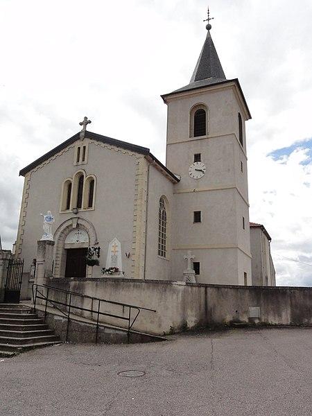 Richardménil (M-et-M) église