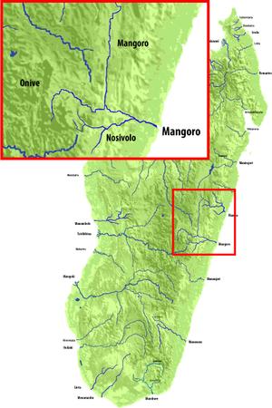 Onive River - Image: Rijeka mangoro