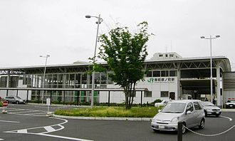 Rikuzen-Haranomachi Station - Rikuzen-Haranomachi Station, June 2010