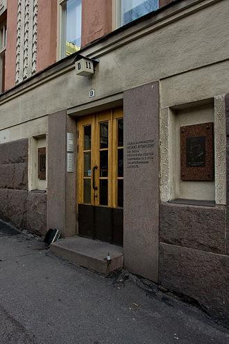 Heikki Ritavuori - The site of the murder