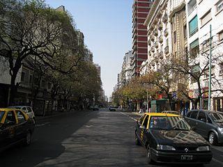 Avenida Rivadavia street