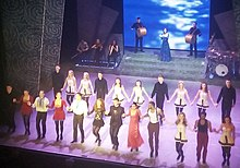 Photograph of Riverdance cast