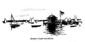 Riverton, New Jersey - Riverton Yacht Club House c 1894