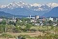 Robenhausen - Glarner Alpen, Mürtschenstock und Nebengipfel, Pfäffikersee, Kempten-Oberwetzikon, Ansicht von der Jucker Farm in Seegräben 2016-05-21 18-37-47.JPG