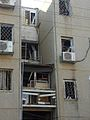 Rocket hitting car Beer Sheva 2012 05.jpg