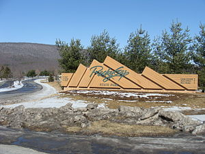Rocky Gap State Park - Image: Rocky Gap entrance