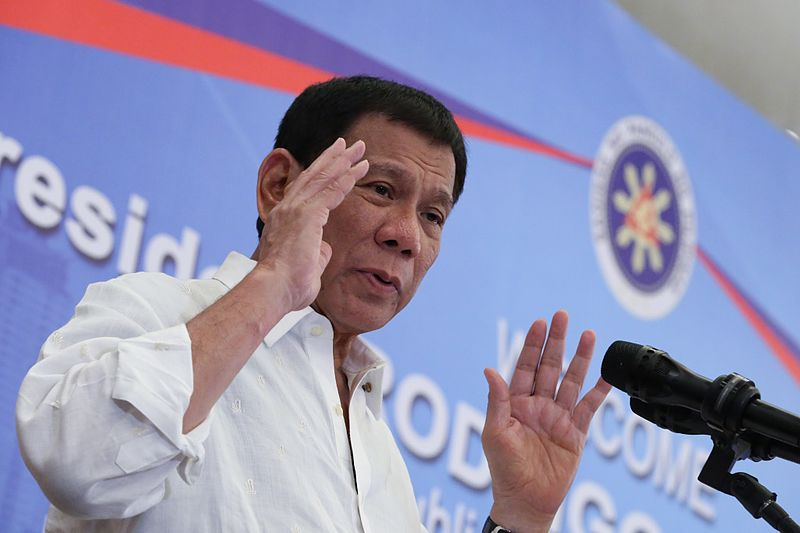 File:Rodrigo Duterte delivers his message to the Filipino community in Vietnam during a meeting on September 28.jpg