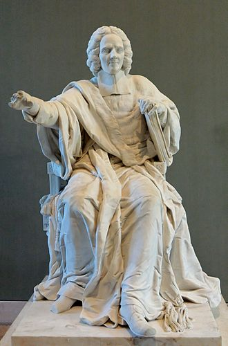 Charles Rollin - Statue of Charles Rollin on display at the Louvre.