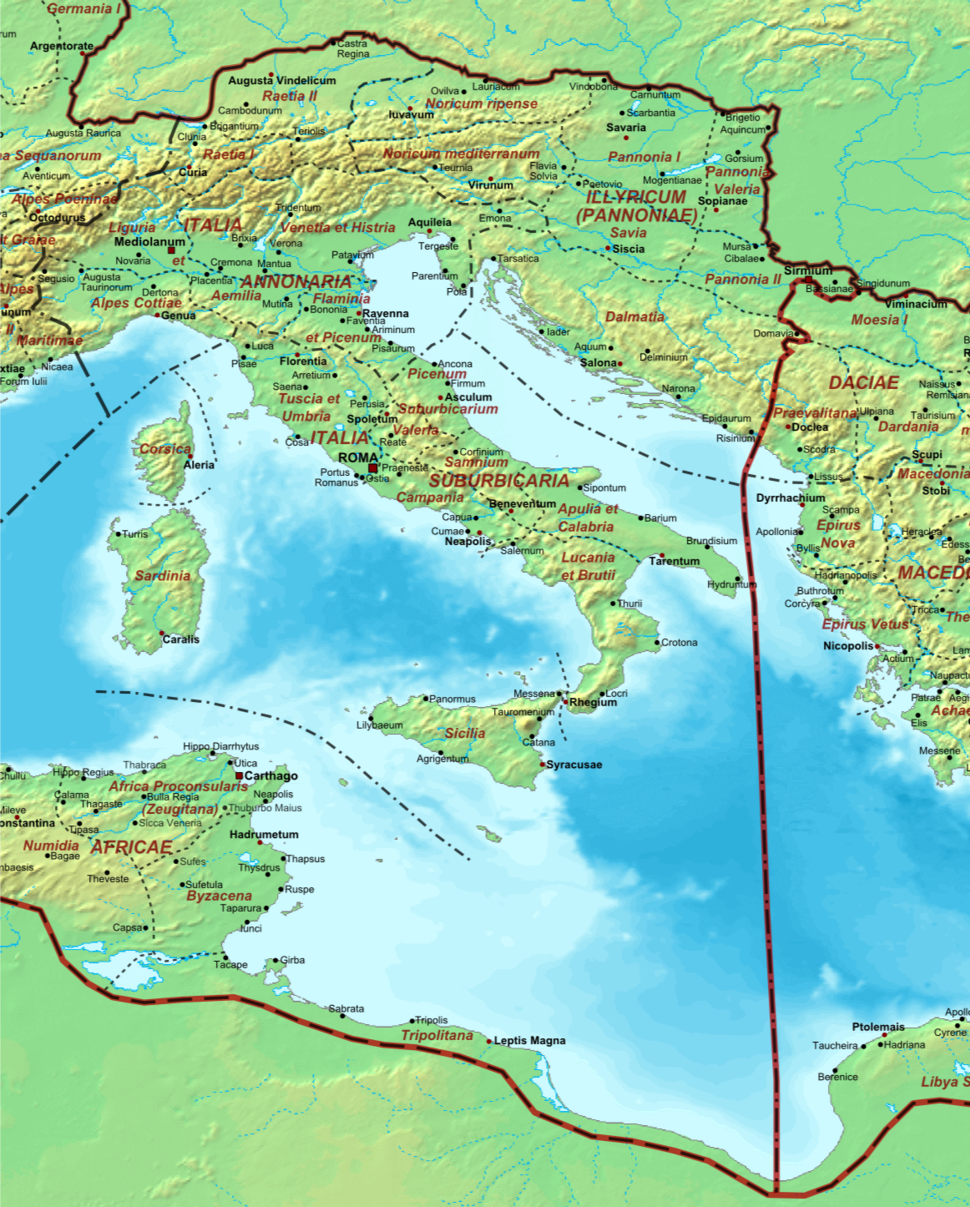Roman Italy - AD 400