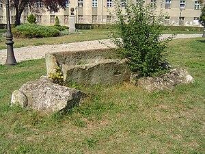 Roman sarcophagus Zemun