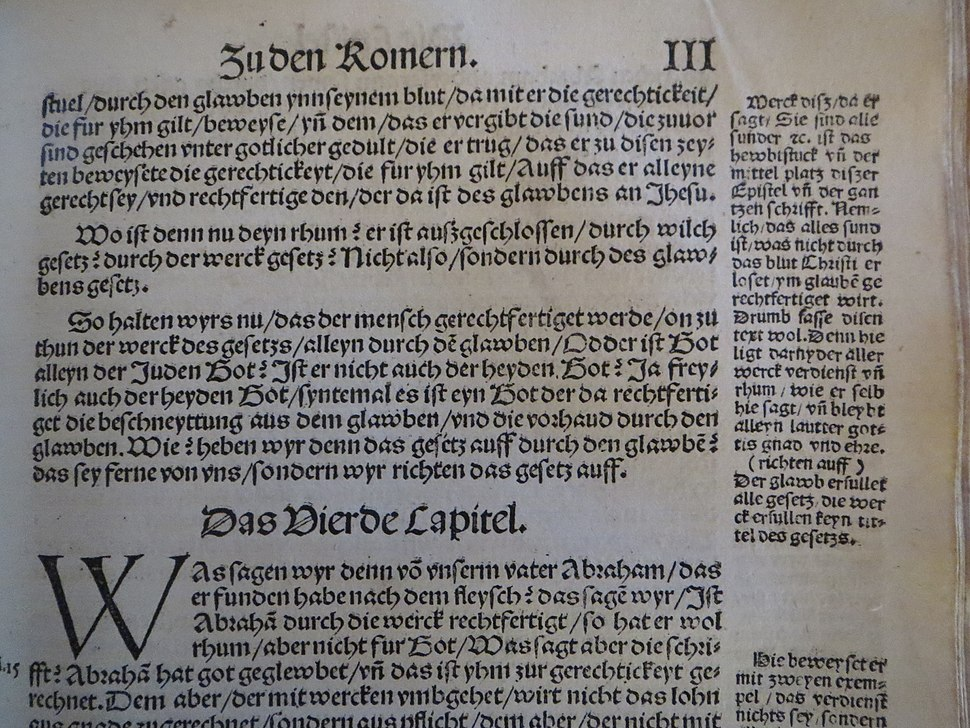 Romans 3 in September Testament