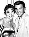 Ronnie Burns and Jacqueline Baer - 1956.jpg