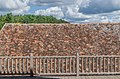 Roof of the Castle of Beynac from the spur building terrace 02.jpg