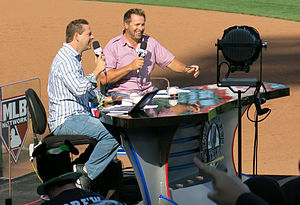 Kevin Millar - Chris Rose and Kevin Millar at the 2013 World Baseball Classic