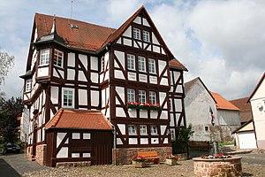 Rosenthal, Hesse - Rathaus from Rosentahl