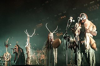 Heilung neofolk-rock band with members from Denmark, Germany and Norway