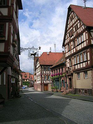 Rothenfels - Image: Rothenfels Hauptstrasse