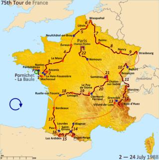 1988 Tour de France cycling race