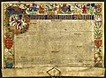 Royal Patent, creating James Hamilton Viscount Claneboye, 1622 (37712570645).jpg