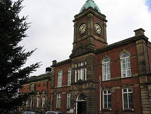Royton - Image: Royton Town Hall 1
