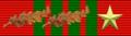 Ruban de la croix de guerre 1939-1945-2 palmes-1étoilevermeil.png