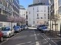 Rue Joséphine Baker (Lyon) depuis la Route de Vienne.jpg