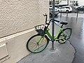 Rue du Colombier (Lyon) - vélo Gobee.JPG