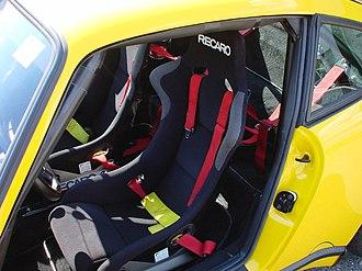 Ruf CTR - The Recaro seats in a CTR