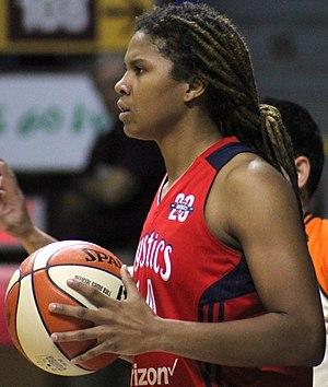 Tierra Ruffin-Pratt - Ruffin-Pratt during the 2017 WNBA semifinals