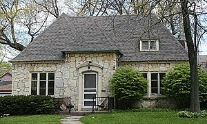 National Register of Historic Places listings in Milwaukee County, Wisconsin - Image: Rufus Arndt House May 09