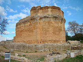 Algarve - The Roman temple of Milreu in Estói
