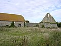 Ruined medieval barn at St Leonard's Grange, Beaulieu, New Forest - geograph.org.uk - 60483.jpg