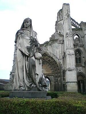 Abbey of Saint Bertin - The abbey ruins