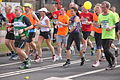 Runners during marathon Rotterdam.JPG