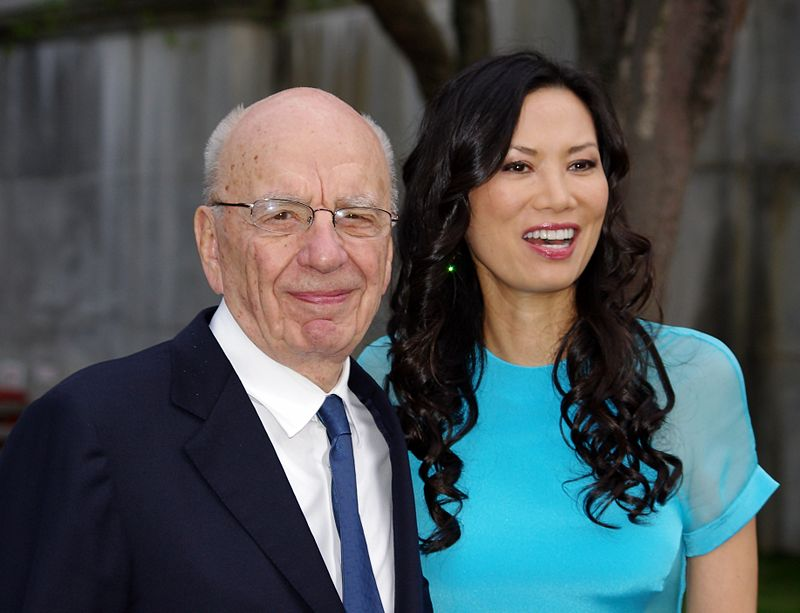 Rupert Murdoch Wendi Murdoch 2011 Shankbone.JPG