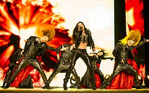 Ruslana at the Eurovision Song Contest 2012.jpg