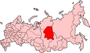 Evenk Autonomous Okrug - Image: Russia Evenkia 2005