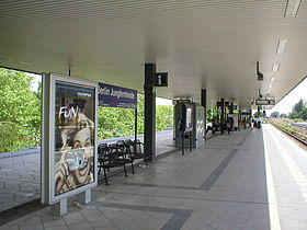 image illustrative de l'article Gare de Berlin Jungfernheide