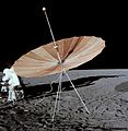 S-band antenna on lunar surface - taken during Apollo 12 mission - cropped.jpg