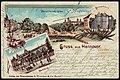 S. Wronker & Co. PC Gruß aus Hannover Herrenhäuser Allee Parkhaus Palmenhaus Lithografie Bildseite.jpg