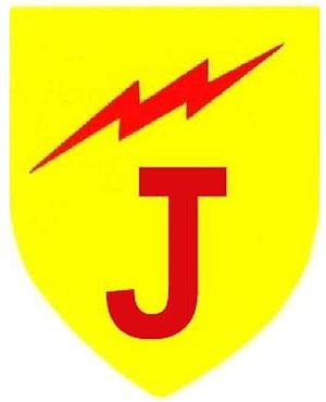61 Mechanised Battalion Group - SADF temporary vehicle marker for Combat Group Juliet