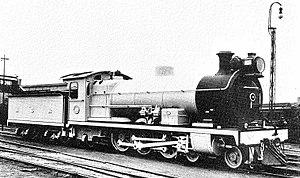 South African Class 2C 4-6-2 - Image: SAR Klasse 2C