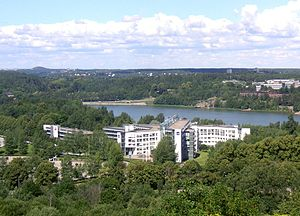Solna Municipality - Scandinavian Airlines head office
