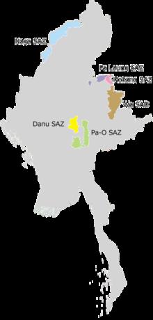 Divisione e zone auto-amministrate