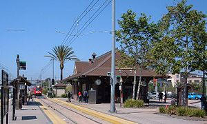 Old Town Transit Center - Image: SDT Old Town 1