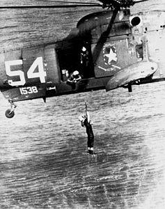 SH-3A HS-4 rescueing aviator off Vietnam in 1966.jpg