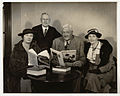 SLNSW 822101 94 Miles Franklin far right with W Farmer Whyte standing Mildred Seydell and M Paul Wenz 1938.jpg
